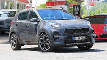 Refreshed Kia Sportage Spy Shots No Camo