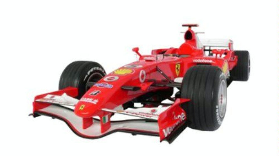 Who wants a Ferrari F1 Race car on their driveway?