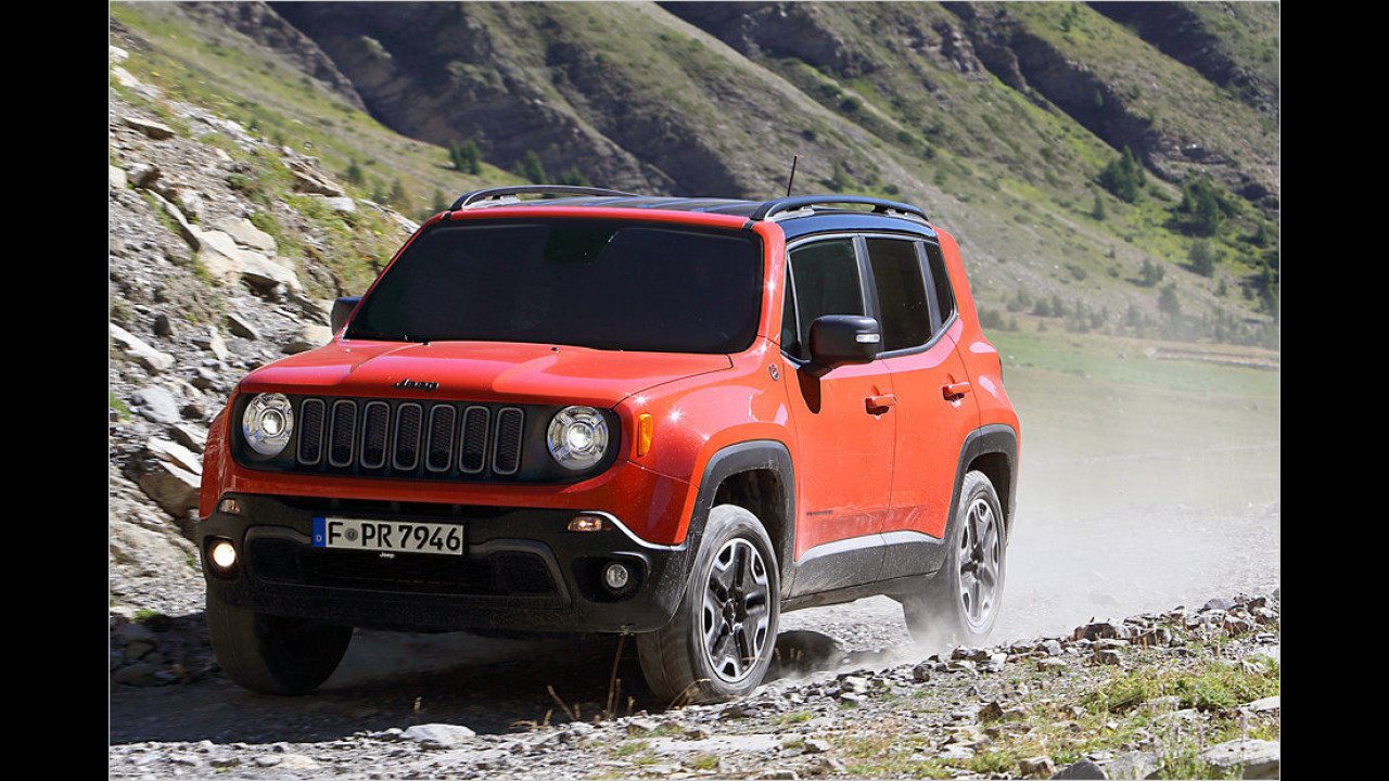 Kleine SUVs: Jeep Renegade