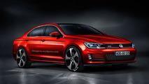Volkswagen Golf CC GTI render