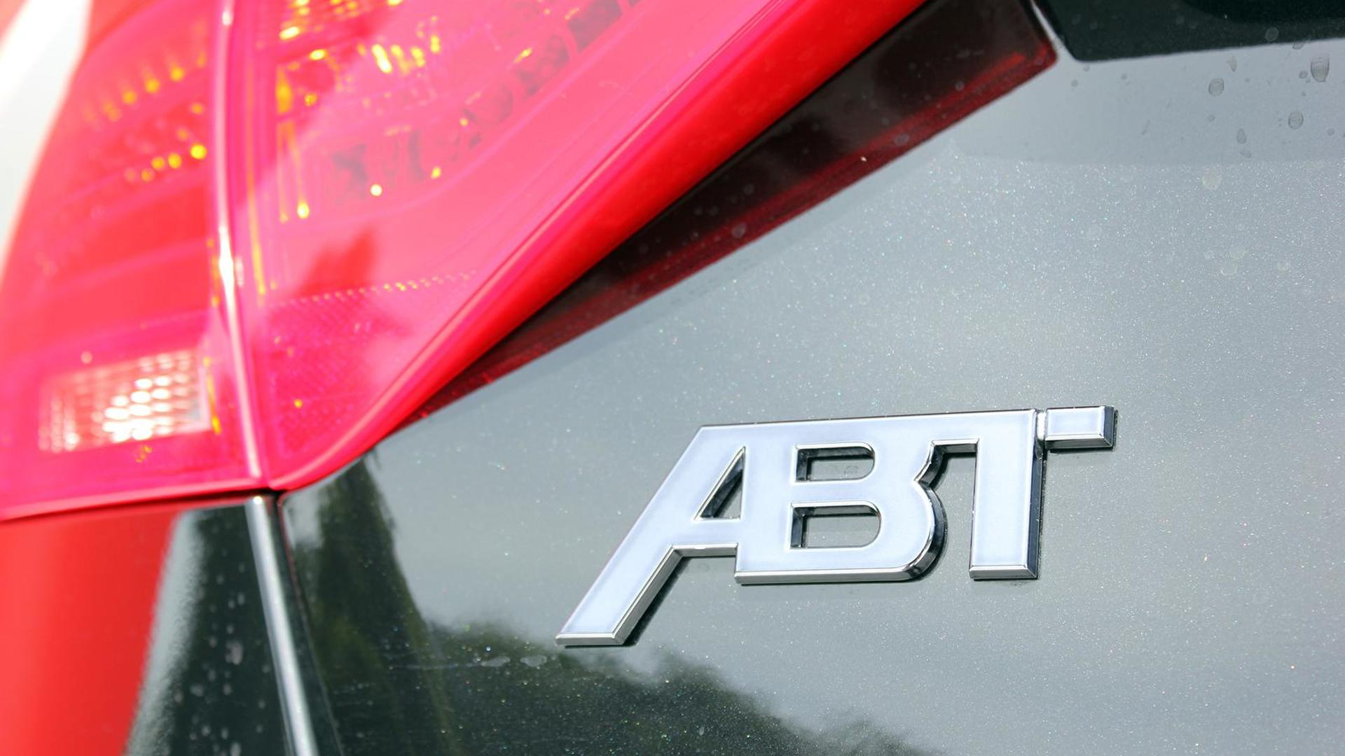 Логотип ABT на крышке багажника Audi A5 Sportback