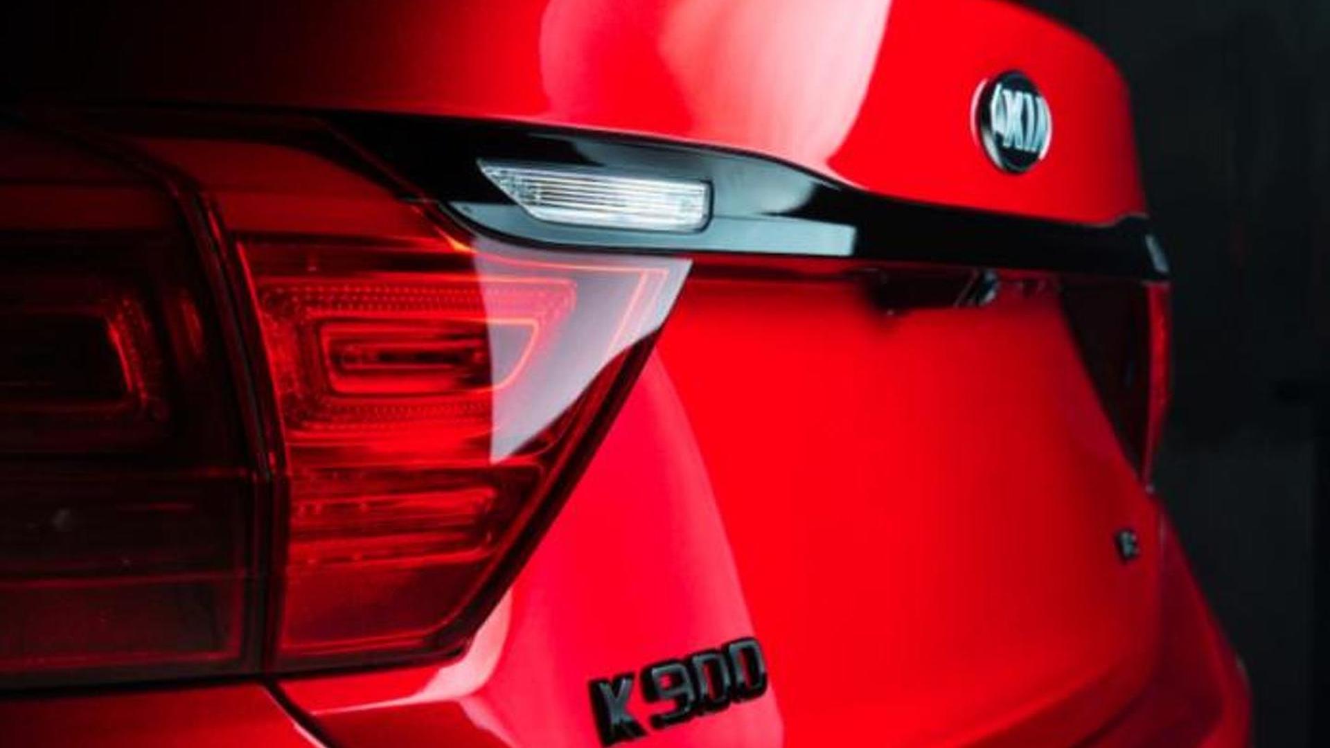 kia k900 2015 red. kia k900 2015 red