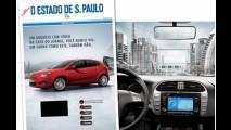 Fiat Bravo estreia primeiro anúncio com vídeo em capa de jornal do Mundo