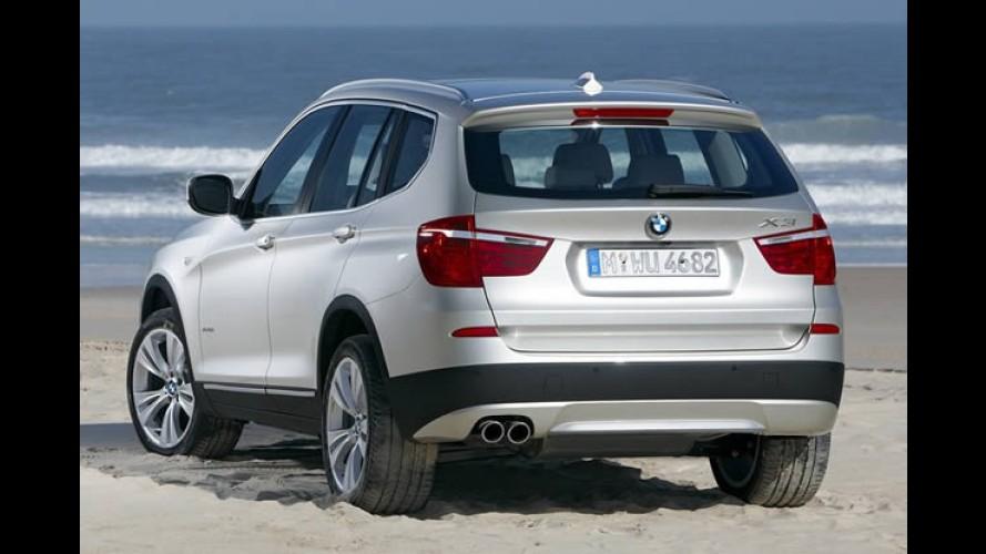 Novo BMW X3 2011 - Vaza primeira imagem do utilitário renovado
