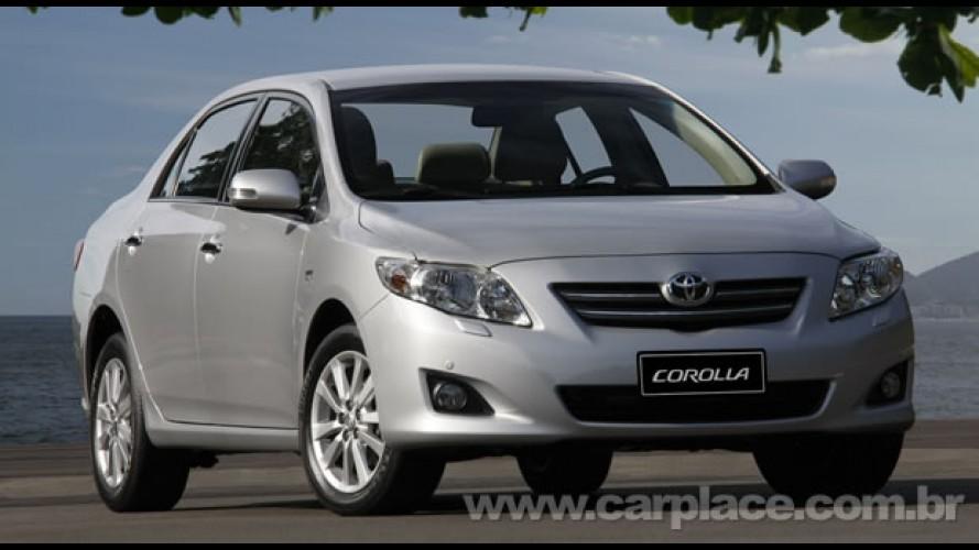 Toyota Corolla vence a pesquisa