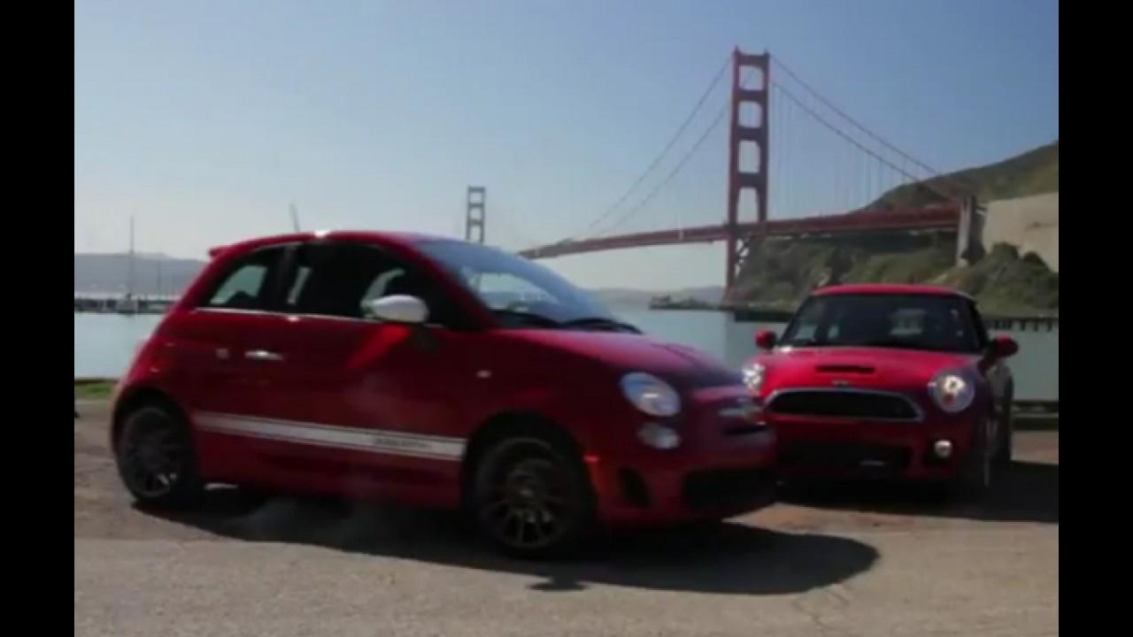 Vídeo: Fiat 500 Abarth X Mini JCW