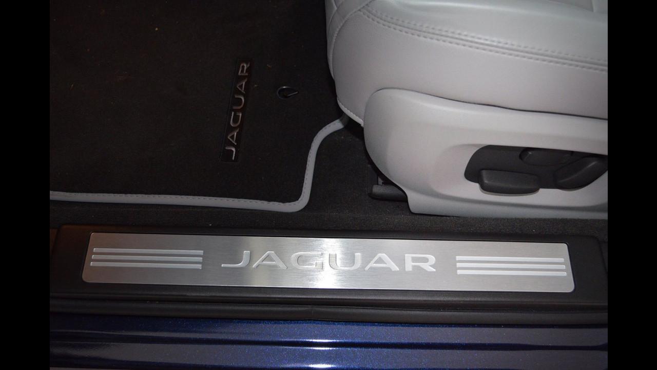 Jaguar XF 2.2 D Sportbrake, test di consumo reale Roma-Forlì