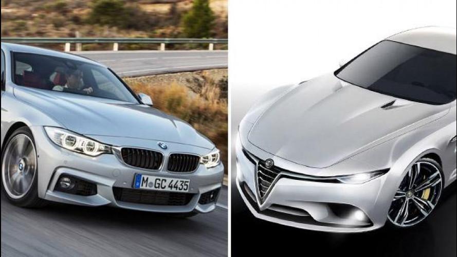 Alfa Romeo vs BMW, tutti i motori della sfida