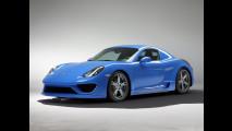 Porsche Cayman S, la versione speciale di Studiotorino Moncenisio