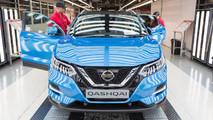 2017 Nissan Qashqai üretim