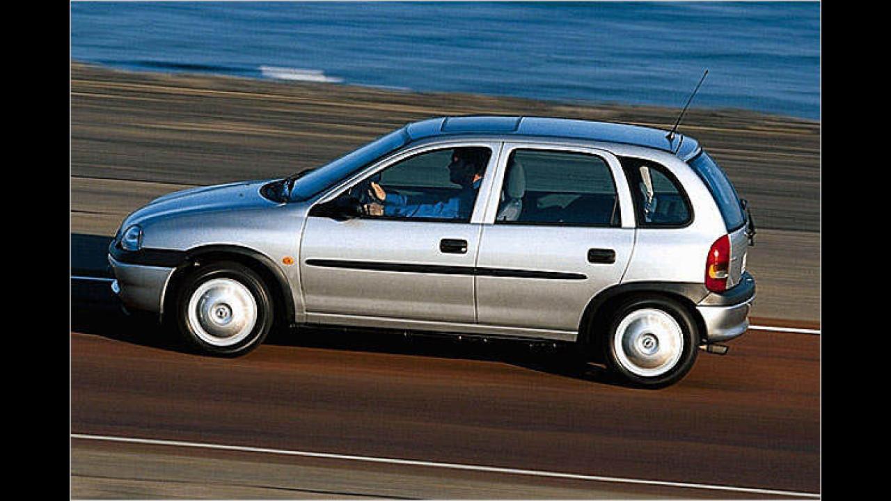 Platz 2: Opel Corsa (7,7 Prozent)