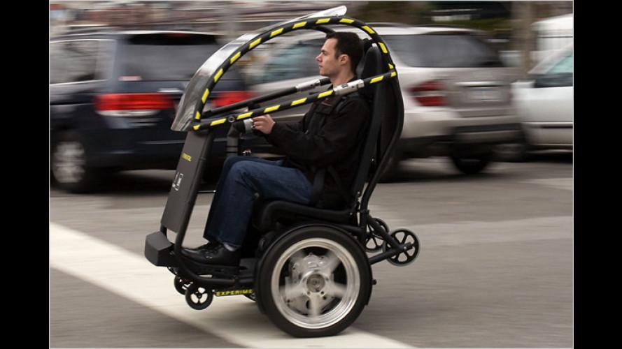 GM und Segway zeigen neues Konzept für die Stadt