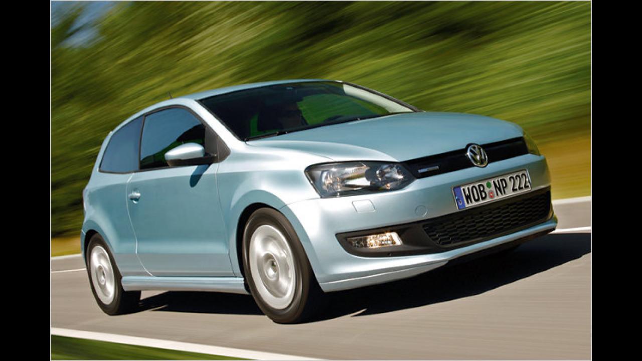 Sparsamstes Serienfahrzeug: VW Polo 1.2 TDI BlueMotion 87g