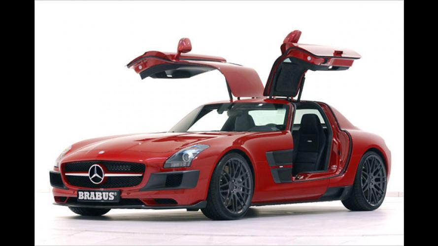 Brabus: SLS AMG als Breit-Version
