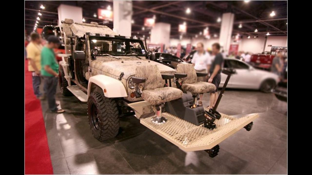 Jeep Wrangler mit Außenplätzen