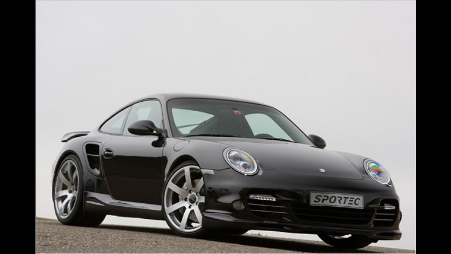 Für Individualisten: Sportec tunt den Porsche 911 Turbo