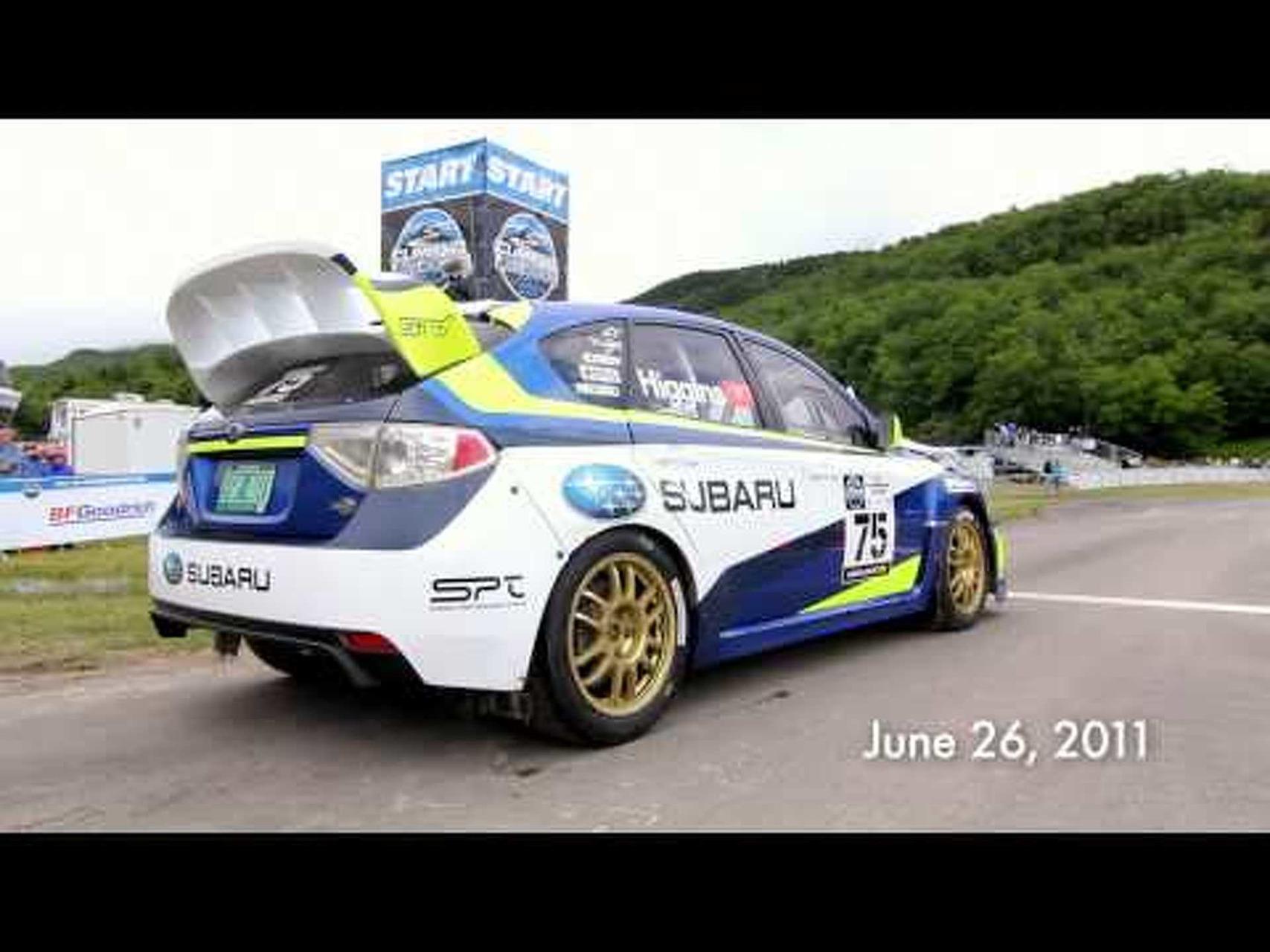 Subaru Rally Team USA's David Higgins Breaks Mt. Washington Record on BFGoodrich Tires