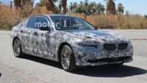 BMW 5 Series PHEV Spy Pictures