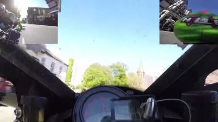 Supercharged Kawasaki Ninja H2R hits incredible 331 km/h at Isle of Man [video]