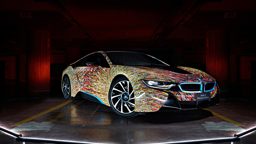 BMW i8 Futurism Edition is a one-off splash of color