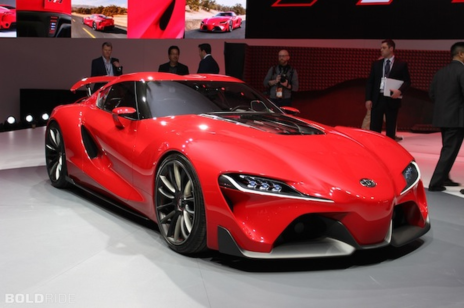 Toyota Ft 1 Concept Is A New Supra In Disguise