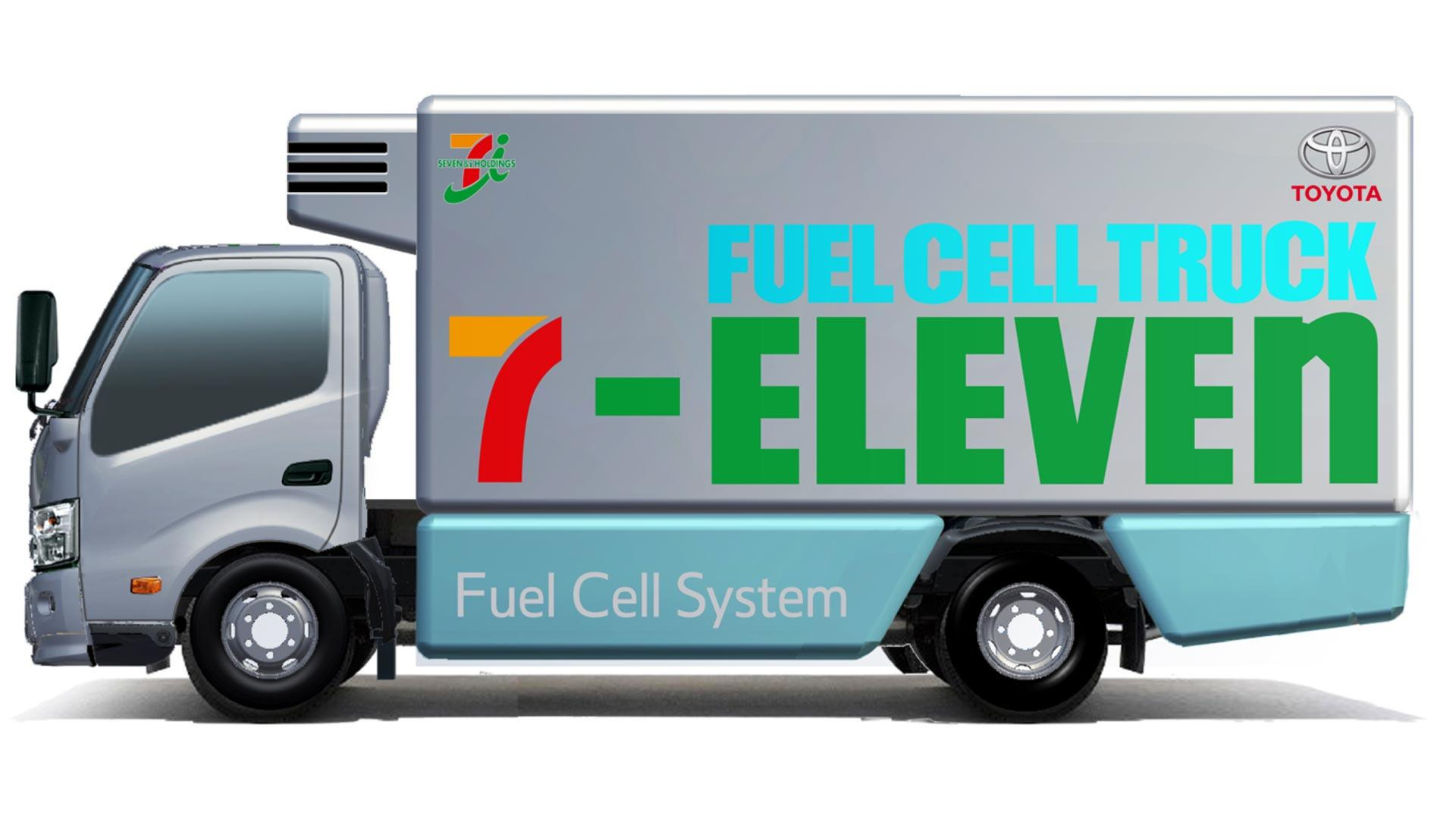 Toyota 7 Eleven Partner On Hydrogen Fuel Cell Truck Study