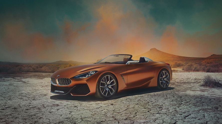 Next Generation BMW Z4 Concept Teased Ahead Of August 17 Debut