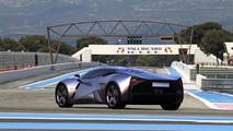 Marussia B3 Rendering