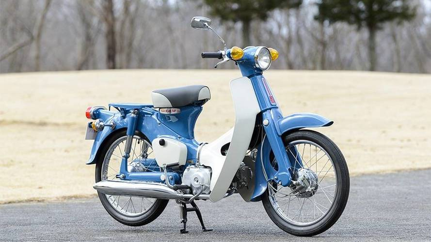 Honda Cub celebrates 100 million milestone