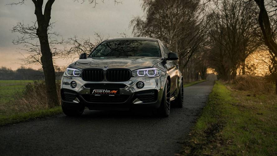 BMW X6 M50d by Fostla