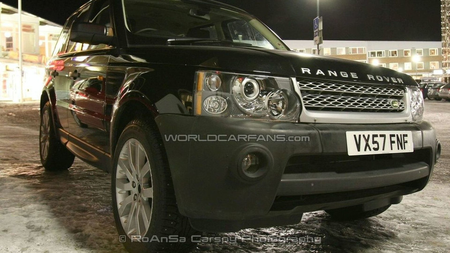 Range Rover Sport Facelift Spy Photos