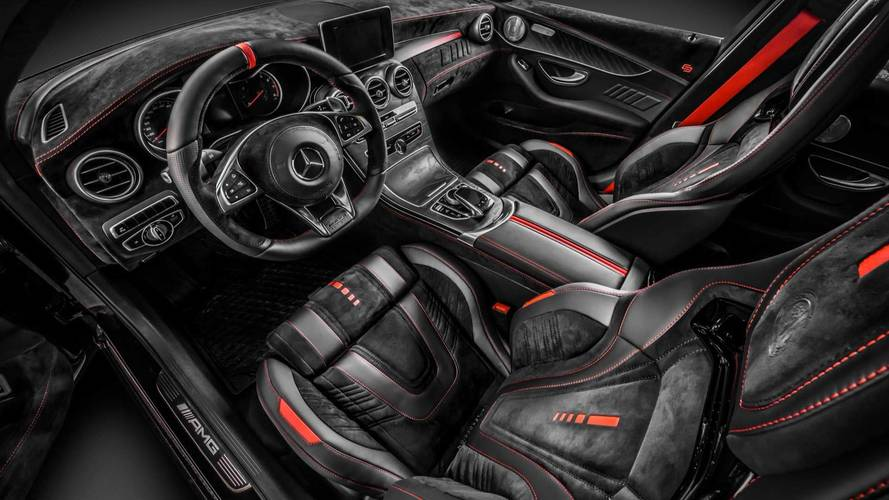 Mercedes-AMG C43 By Carlex Design Is Lavished With Leather
