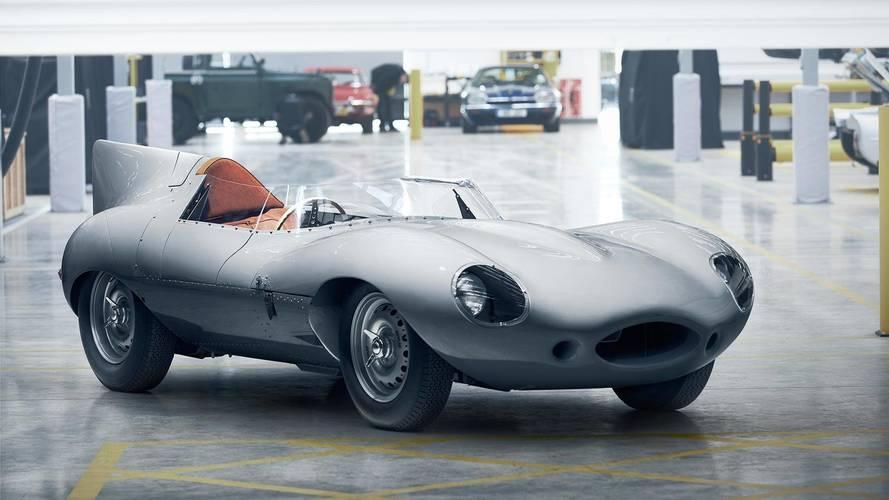 Jaguar fait revivre sa légendaire Type-D