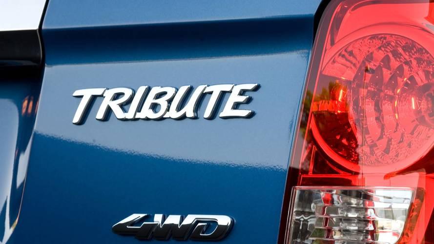 General Motors Trademarks 'Tribute' Nameplate