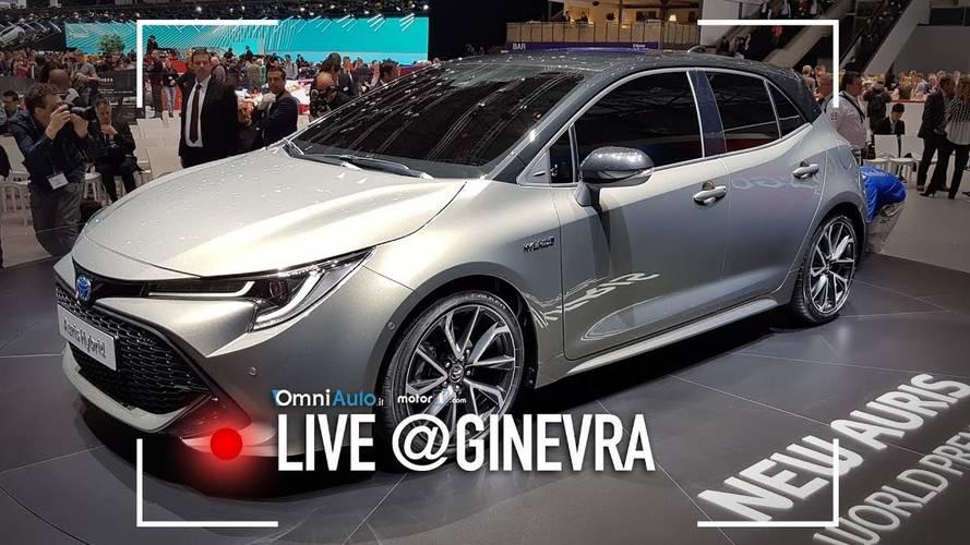 Nuova Toyota Auris, l'ibrido si sdoppia al Salone di Ginevra