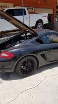 Porsche Cayman receives Ford 5.0L V8 conversion