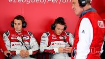 Oliver Jarvis, André Lotterer, Dr. Wolfgang Ullrich, Head of Audi Sport, , Audi Sport Team Joest