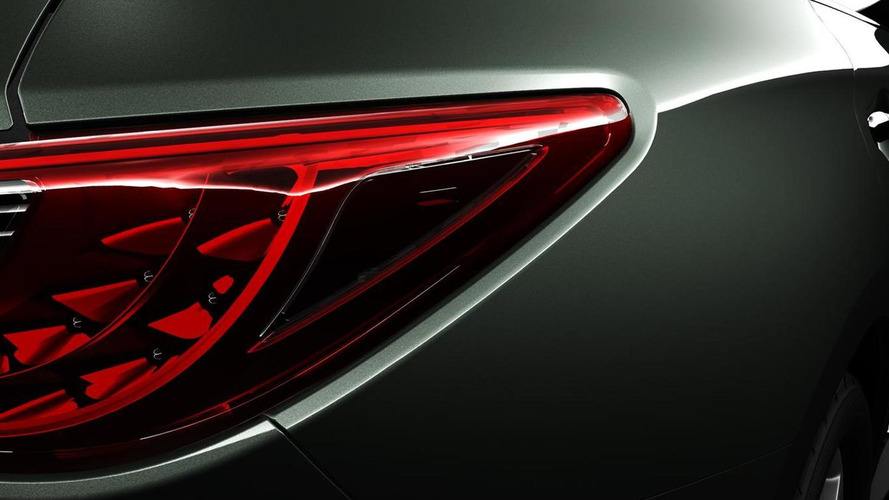 Infiniti releases second teaser image of the 2013 JX Concept SUV