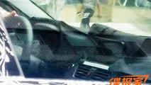 BMW 1-Series Sedan interior spied