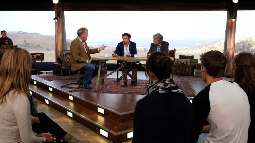 First pictures of The Grand Tour's tent emerge