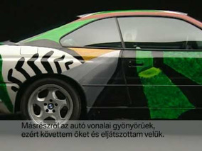 BMW Art Car - 1995 David Hockney 850 CSi.mpg