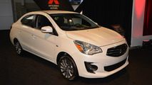 2017 Mitsubishi Mirage G4 at New York Auto Show 2016