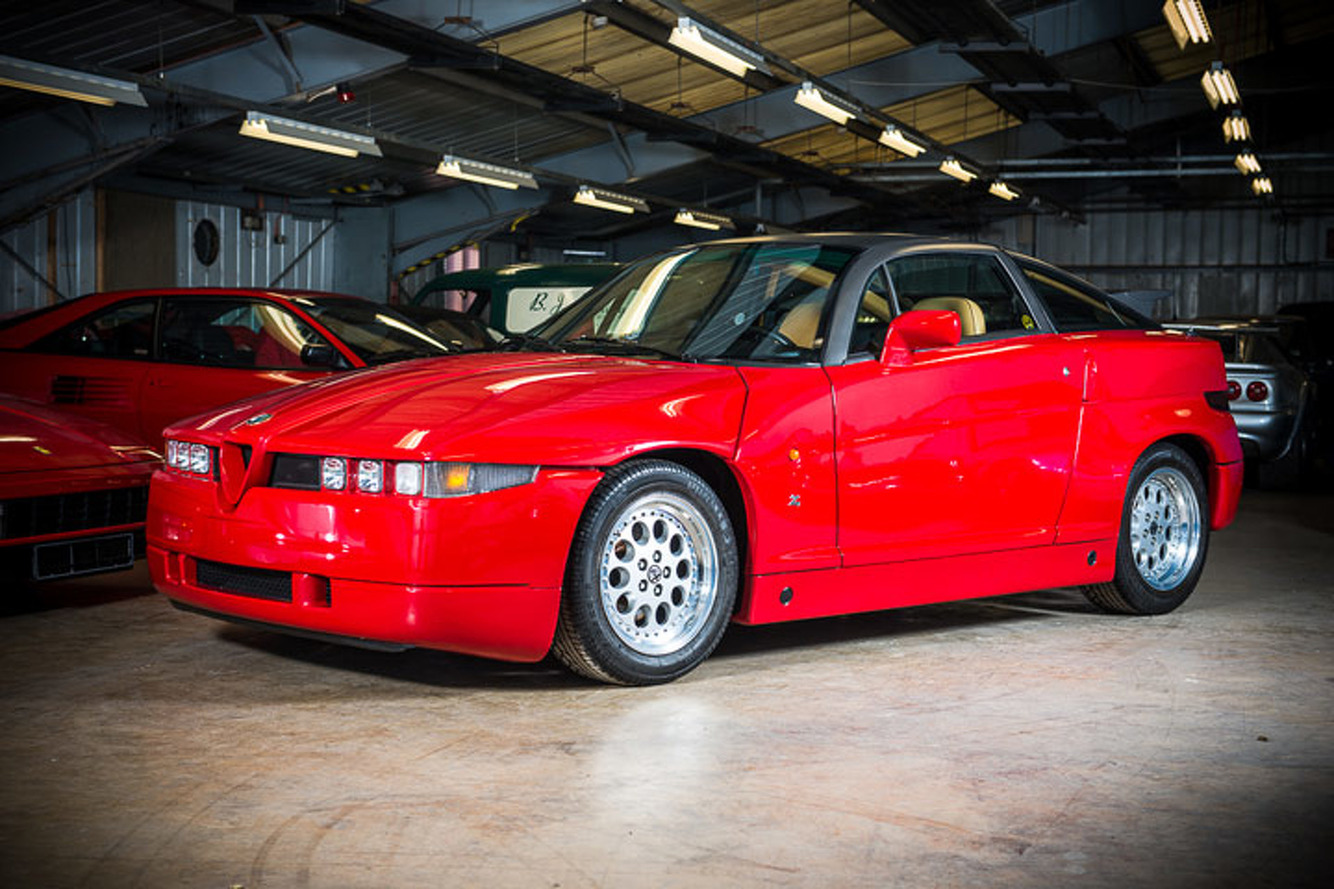 Virtually No-Mileage Classic Ferrari and Alfa go Up for Auction