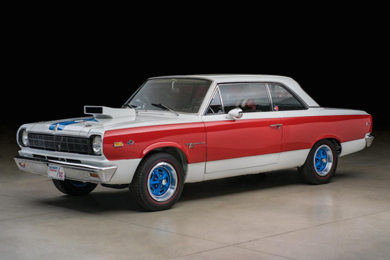 Red, White, and True 1969 AMC SC/Rambler-Hurst Hits eBay