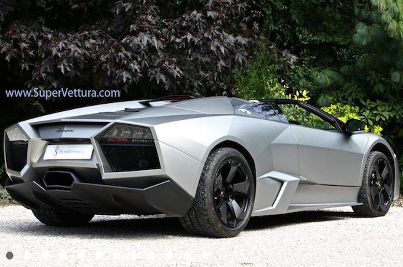 For $1.75M, Own this Lamborghini Reventon Roadster