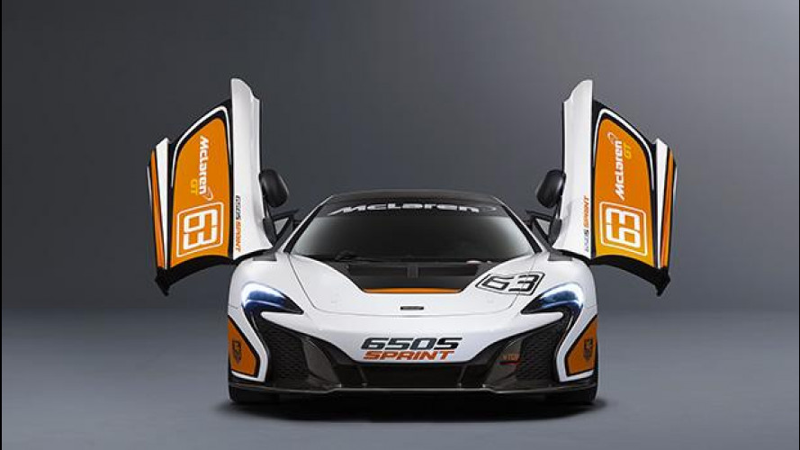 McLaren 650S Sprint, per un track day da sogno