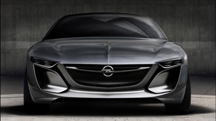 Opel Monza Concept, nuova foto teaser