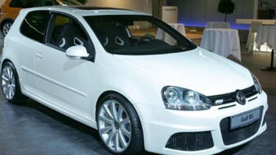 VW Golf RS Sneak Peak