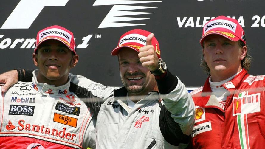 Barrichello wins Valencia GP after Hamilton team mistake