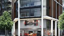 McLaren London showroom, One Hyde Park; The Residences at Mandarin Oriental 06.08.2010